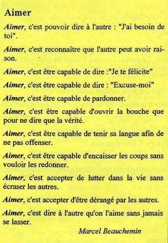 Aimer, c'est ...      Aline ♥ # powerpatate # amour