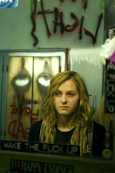 Scout Taylor-Compton as Laurie Strode in Rob Zombie's Halloween II