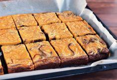 Mogyoróvajas brownie recept Brownies, Bread, Healthy Recipes, Cookies, Fitt, Mood, Food Cakes, Cake Brownies, Crack Crackers