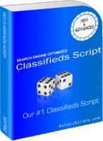 Priced at 99.00USD Less Discount - SEO Classifieds Script by Softbiz Solutions.  pstrongPHP Classifieds /strongis the best strongclassifieds software/strong which has a set of features that you just cannot find in any other script. It is the complete solutions to run ....Check Out Discounts at http://getdiscountcouponcode.com/SOFTBIZS/seo-classifieds-script.htm