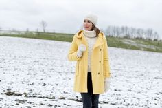 Outfit: Winter White and Spring Yellow | Mood For Style - Fashion, Food, Beauty & Lifestyleblog