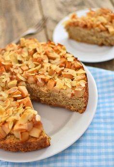 Fit ciasto owsiane z jabłkami i gruszkami - etap 1