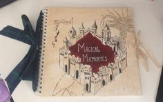Marauder's Map Scrapbook (Original) For my sister's last birthday I decided to make her something Harry Potter themed because we both aboslutely love HP. That is when inspiration struck and I decided on making her a marauder's map scrapbook. and filled it with lots of wonderful memories, even leaving space for her to continue it later in life. If anyone would like a step-by-step guide feel free to ask!