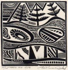 Vaclovas Ratas (Lithuanian/Aus., 1910-1973)  Perth WA