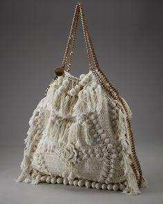 Bolso en crochet de Vanessa Montoro   Ruthy Crochet y más...❤️LCB-MRS❤️ With diagrams.