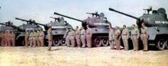 Yugoslav T34/85 tanks