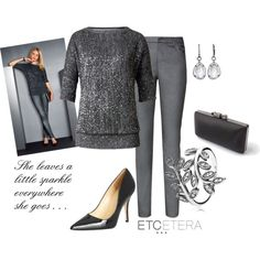"""""""Etcetera: Leave a little sparkle, wherever you go."""" by etcetera-nyc on Polyvore"""