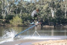 Danny Stephens getting some spin action down pat today.. Taking his rails like a boss!!