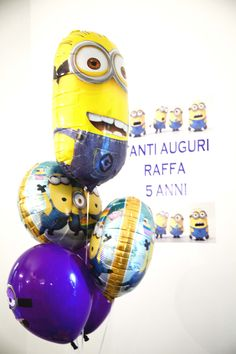 MINION BIRTHDAY PARTY MADE BY VS EVENTS