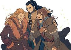 One of those times when Thorin acts like he actually likes us....<- Oh Fili he always cares. Warriors have a hard time showing it sometimes though.