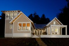 The Maple is a unique home floor plan that divides daytime and nighttime spaces with a dramatic glazed entry. A spacious deck connects the t...