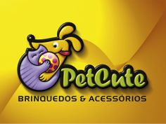 Logotipo criado pela Ópera para a PetCute, de São Paulo SP.