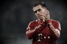philip lahm Random Things, Bomber Jacket, Football, Sports, Jackets, Fc Bayern Munich, Soccer, Hs Sports, Down Jackets