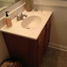 Before & After: A $210 Guest Bathroom Refresh