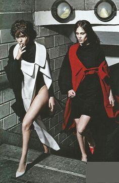 So much swag #fashion #editorial