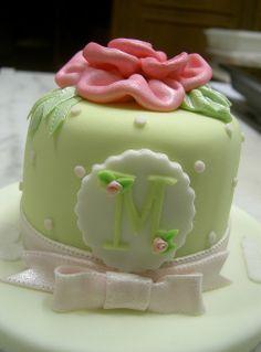 Monogram Mini Cake