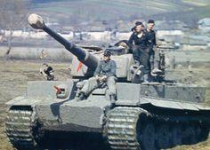 "Carro Alemán Panzer VI ""Tiger"" #Historia #IIGM"