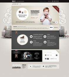 Web Distrito01, web design