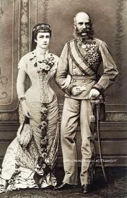 Sissi and Franz Josef of Austria. Elisabeth of Austria (due to the movie also known now as Sissi, Kaiser Franz Josef, Franz Josef I, Empress Sissi, The Empress, European History, Women In History, Sissi Film, Old Photos, Vintage Photos