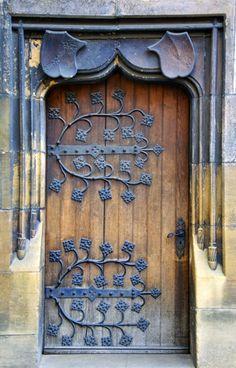 Subtle Door, Colmar, Alsace, France