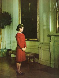 White House Tour Jackie Kennedy This Made History It Was The First Time Inside Televised Most People Had Only Seen Still P