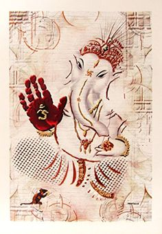 Lord Ganesha / Shree Ganesh / Shri Ganpati / Modern Art P… Hindu, Modern Art, Indian Paintings, Painting, Lord, Ganesha Art, Abstract Artwork, Art, Buddha