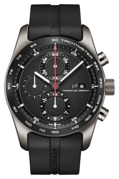 The @porschedesign Chronotimer Series 1 - this watch (Ref. 4046901408718) is part of the first complete watch collection independently developed and manufactured by Porsche Design Timepieces AG, based in Solothurn, Switzerland; it features the ETA Valjoux 7750, an integrated chronograph caliber with a 48-hour power reserve and 3 o'clock date indication. #porschedesign #watchtime #chronograph