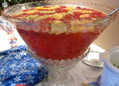 christmas recipes for parties | Great Christmas Punch recipe for the Cookie ... | Party Drinks and Co ...