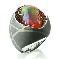 Markin opal ring