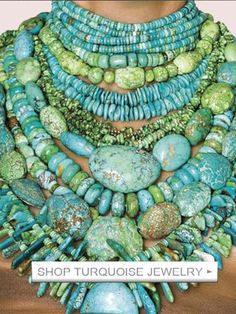 There's no such thing as too much turquoise!