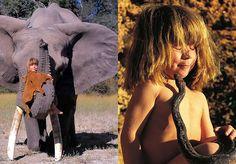 Tippi Degré podia ser uma menina normal, não fosse o fato de ter vivido 13 anos da sua vida na selva africana, convivendo com todo o tipo de animais, desde os mais pacíficos até os maiores predadores. Uma espécie de Mogli no feminino. Filha de um casal de fotógrafos franceses que trabalham na Namíbia para a National Geographic (Alain Degr...