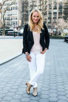 easy weekday look // stripes & sequins