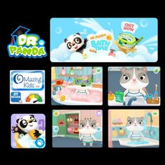 OMazing Kids: Dr. Panda Bath Time {App Review}. Pinned by SOS Inc. Resources. Follow all our boards at pinterest.com/sostherapy/ for therapy resources.