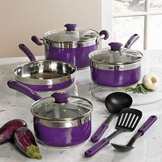 Purple Pots and Pans