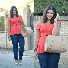 Classic outfit (by Leticia Rguez)   Love this top!