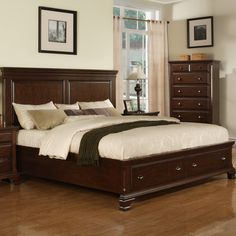 Picket House Furnishings Grant Storage Panel Bed