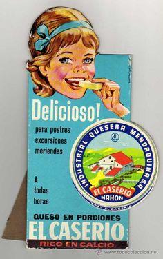 EL CASERIO. CARTON DISPLAY PUBLICITARIO. AÑOS 60. AGENCIA DANIS. 24 X 13 CTMS…