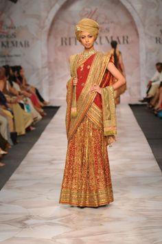 Ritu Kumar...lovely minus the weird pagdi