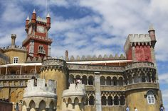 Portugal, A Place Of Beginnings, Visiting Sintra & Cascais From Lisbon - by Ralph Grizzle @avidcruiser, USA Today 11.08.2012   Photo: The Pena National Palace is also designated as one of the Seven Wonders of Portugal. © 2012 Ralph Grizzle