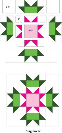 Connemara: FREE Ireland-Themed Quilt Block Pattern. This website also has a ton of other fun block tutorials!