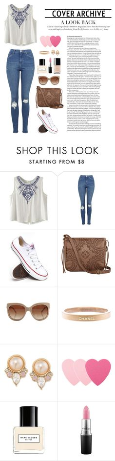"""""""casual"""" by hollyrt2111 ❤ liked on Polyvore featuring Topshop, Converse, T-shirt & Jeans, STELLA McCARTNEY, Chanel, Carolee, Sephora Collection, Marc Jacobs, MAC Cosmetics and ASOS"""