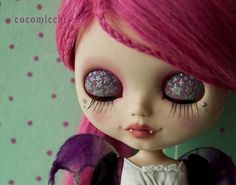 blythe with fangs how cute!!