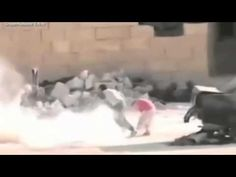 The Incredible Moment Syrian Boy 'Fakes Death' to Save Girl