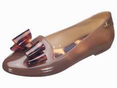 Melissa+Vivienne Westwood Virtue Tortoiseshell loafer