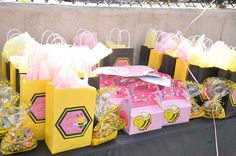 Girly Bee Party Birthday Party Ideas   Photo 1 of 24   Catch My Party
