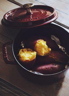 Baked Sweet Potato   Higuccini 焼き芋