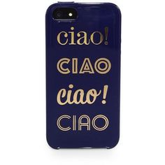 Kate Spade New York Ciao Ciao Ciao Hardcase For iPhone 5