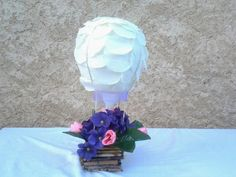Globo aerostatico para boda