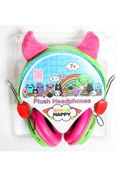 Plush headphones - Tribe - SO SO Happy