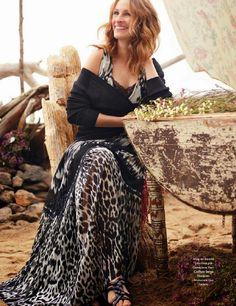 Julia Roberts Magazine Cover 2015 | World Country Magazines: Julia Roberts - Elle Magazine, France, August ...